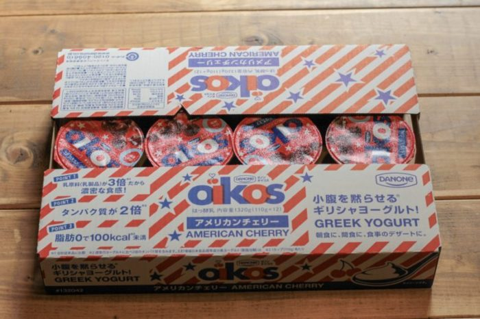 オイコス アメリカンチェリー12個 -コストコ