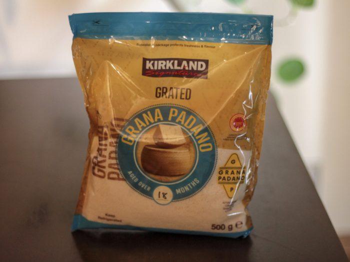 グラナパダーノ 粉チーズ-パッケージ写真-コストコ